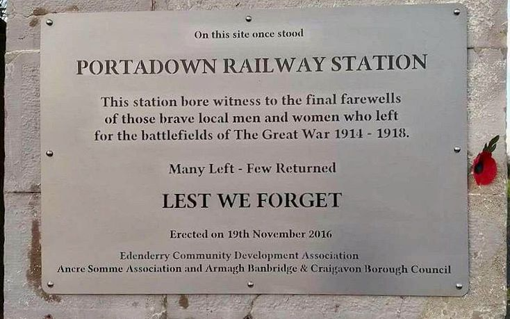 Portadown/Edenderry Railway Station