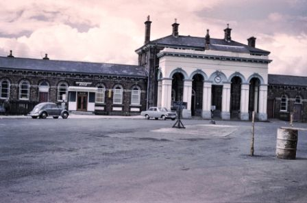 015 Portadown Railway Station just before demolition in the 1960's