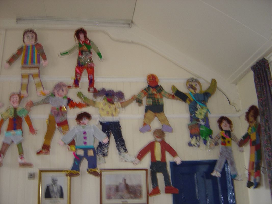 Display of  the Children's work