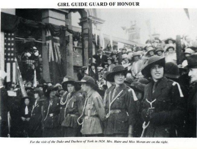 GIRL GUIDE GUARD OF HONOUR