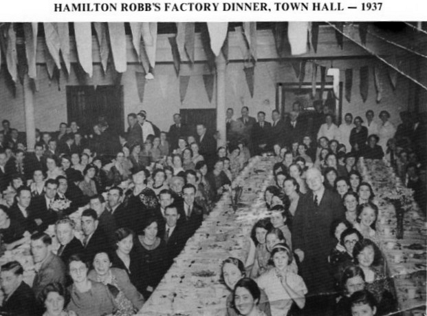 Factory Dinner Town Hall - 1937