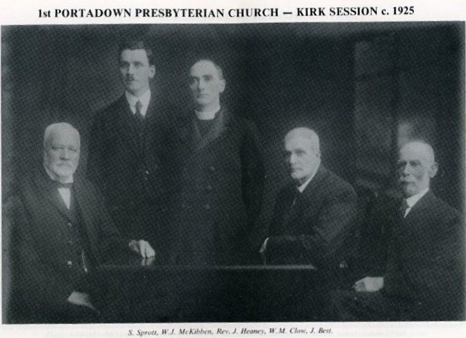 KIRK SESSION - 1925
