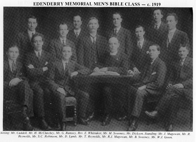 Edenderry Memorial Men's Bible Class - 1919